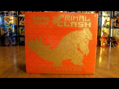 Groudon Primal Clash Elite Trainer Box Opening