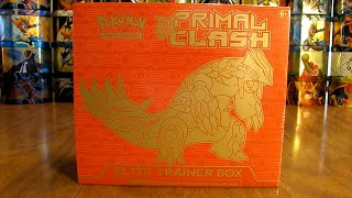 Groudon Primal Clash Elite Trainer Box Opening