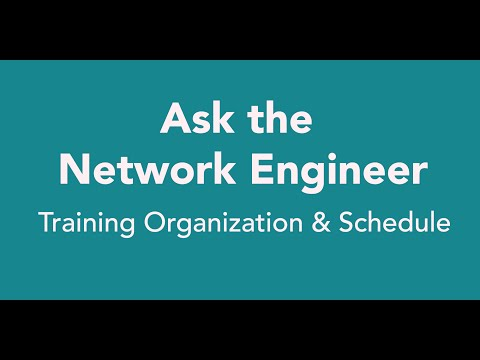 ANE Series Episode 40: Training Organization and Schedule