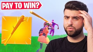 Fortnite's New PAY TO WIN Pickaxe...