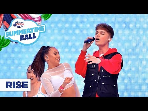 Jonas Blue Feat. HRVY – 'Rise' | Live At Capital's Summertime Ball 2019
