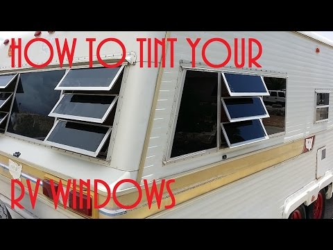 how to add a window to an rv