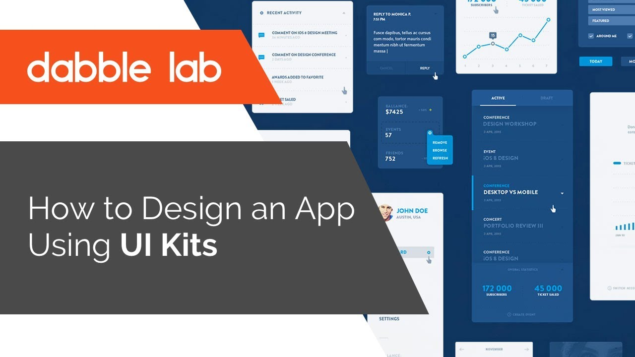 Einrichten Design App How To Design An App Using Ui Kits Dabble Lab 3