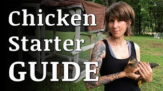 Beginners Guide To Raising BACKYARD CHICKENS