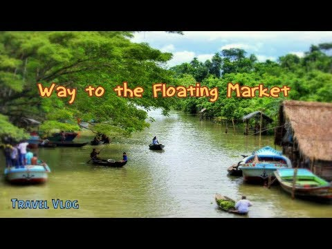 Way to Floating Market and Guava Garden | Barisal | Travel Vlog