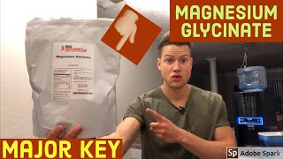Magnesium Glycinate Review / Benefits for Sleep / Relaxation / Anxiety