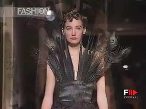 ROMEO GIGLI Spring Summer 1992 Milan - Fashion Channel