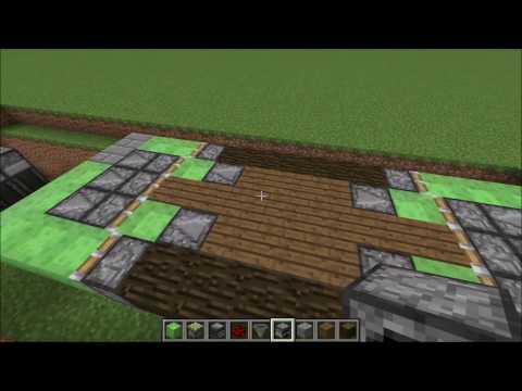 Working Drawbridge (5 Wide) - Minecraft 1.13: Redstone Tutorial