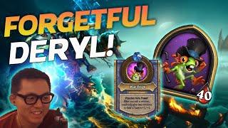 FORGETFUL DERYL! - Hearthstone Battlegrounds