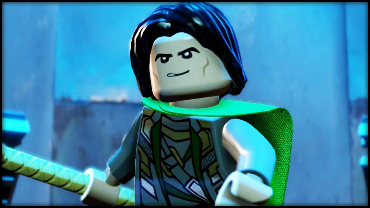 LEGO MARVEL AVENGERS   100% Complete Level Guide   A Loki Entrance!    YouTube