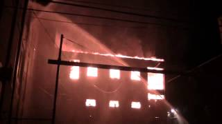Paterson, NJ 5th Alarm Mill Fire 02-06-14