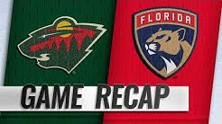 Montembeault, Barkov lead Panthers past Wild