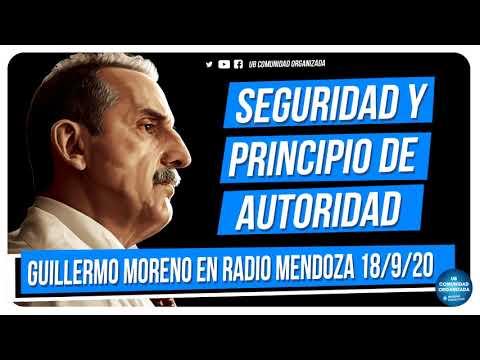 Guillermo Moreno en Radio Mendoza 18/9/20