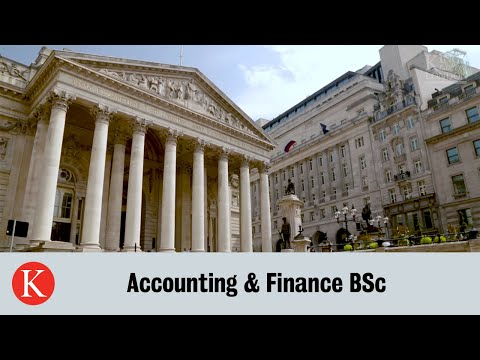 Accounting & Finance BSc | King's Business School
