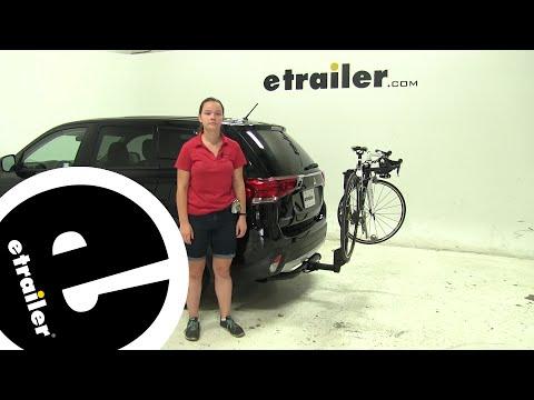 Review of the Thule  Hitch Bike Racks on a 2016 Mitsubishi Outlander - etrailer.com