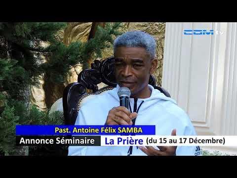 Annonce Séminaire - La Prière