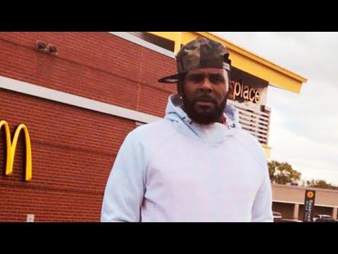 R. Kelly Hits Up McDonald's After Finally Making Bail