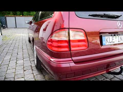 Must see: Amazing CAR '99 Mercedes-Benz W210 S210 final result HD