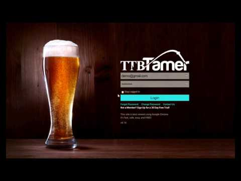 brewery - sales letter - Software for TTB Reporting