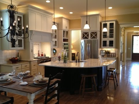 Charmant Agreeable Open Kitchen Floor Plans For Boundless Space