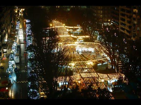 Vigo estrena noria y mercado de Nadal