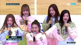 Download Red Velvet - Ice Cream Cake + Happiness (OT5) (Live at Basketball All Star 2015)