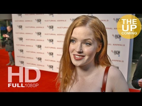 Nocturnal Animals premiere: Ellie Bamber on working with Tom Ford, his attention to detail