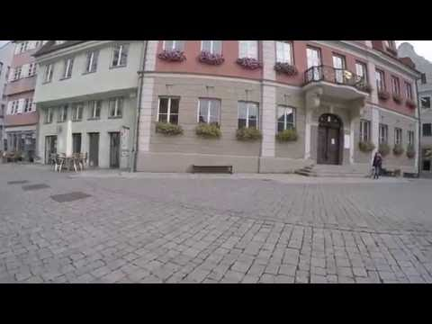 STREET VIEW: Memmingen in Bayern in GERMANY