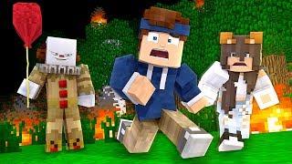 Wir müssen einem Minecraft Monster entkommen!
