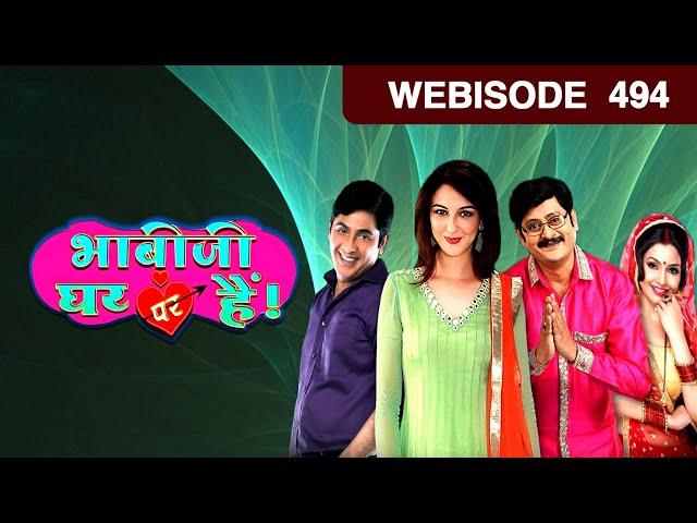Bhabi Ji Ghar Par Hain - भाबीजी घर पर हैं - Episode 494 - January 18, 2017 - Webisode