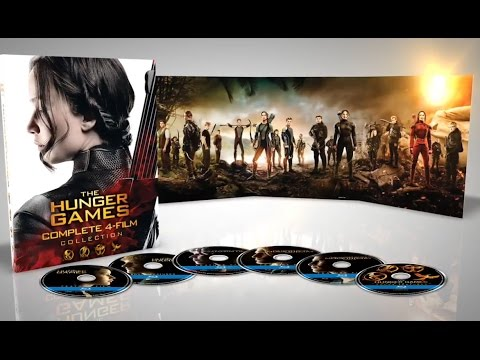 Exclusive The Hunger Games 4-Film Collection and Bonus