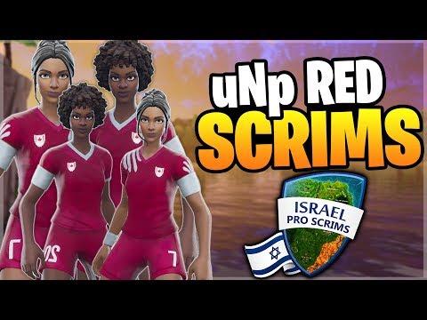 תחרות סקוואדים בישראל - קבוצת יואןפי רד מביאה את הניצחון בשרתים פרטיים! (Fortnite Battle Royale)
