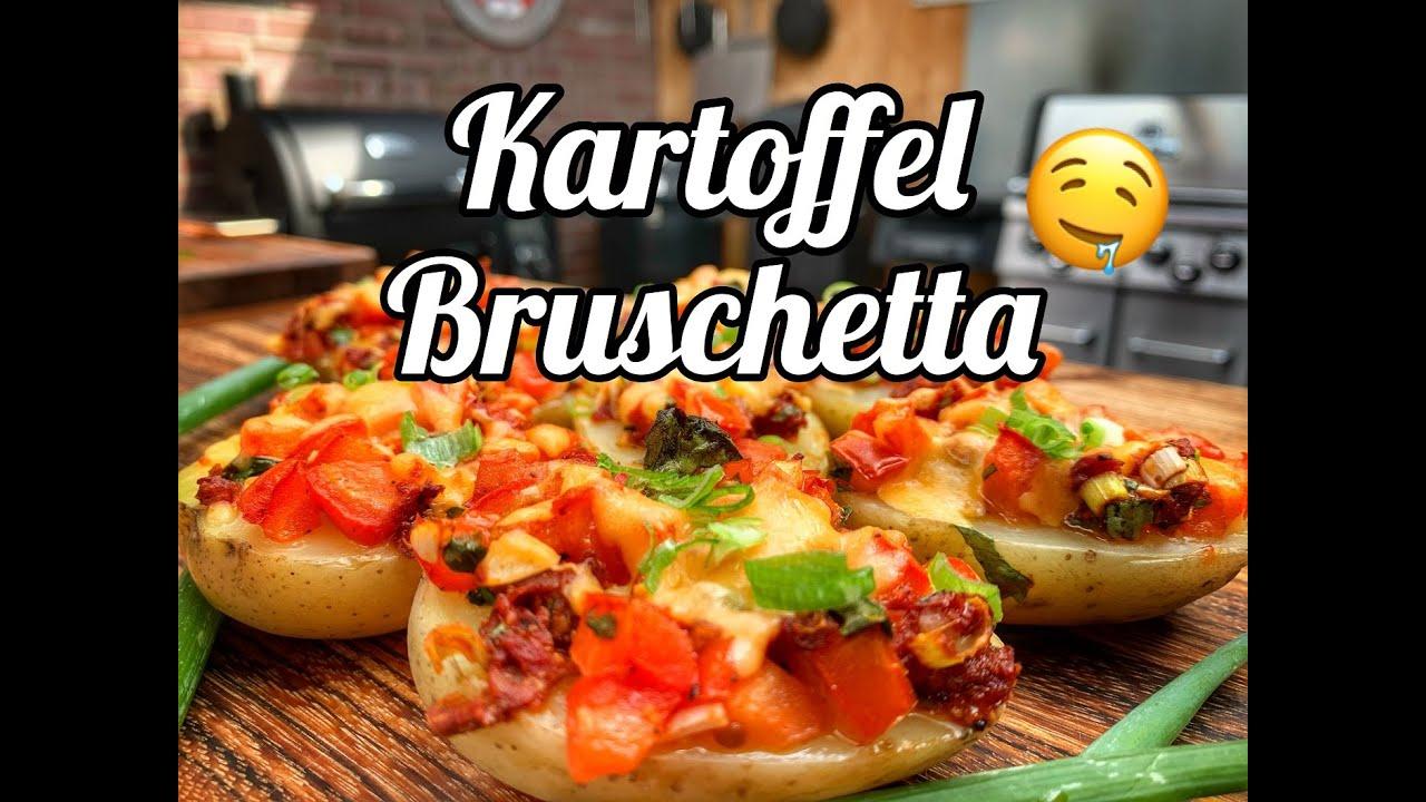 Kartoffel Bruschetta - geniale Vorspeise -- Westmünsterland BBQ
