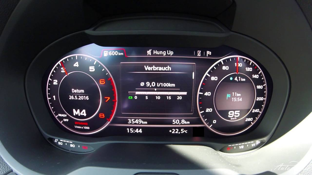 2016 Audi A3 2 0 Tfsi 190 Ps 140 Kw Acceleration 0