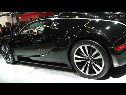Bugatti Veyron Sang Noir - Hessing AutoRAI 2011 - Exclusive Preview