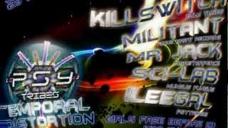 Militant - Kaos Krew Records - Temporal Distortion (Psytribes SA) Gandalfs