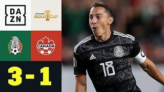 Doppelter Andres Guardado schlägt Alphonso Davies: Mexiko - Kanada 3:1 | Gold Cup | DAZN Highlights