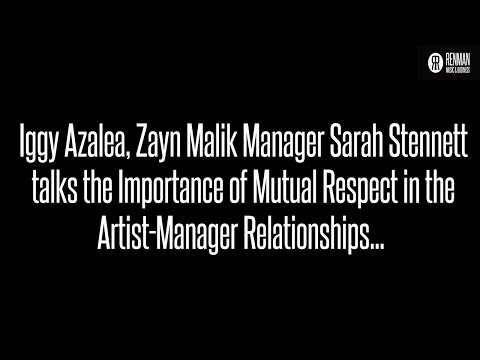 Artist Manager Sarah Stennett talks the Importance of Mutual Respect in Artist-Manager Relationships