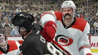 NHL 16 Career Mode #6 - Huge Hits in Preseason!