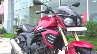 #Bikes@Dinos: Mahindra Mojo Crimson Matte Red Walkaround Review, Test Ride  (red, white)
