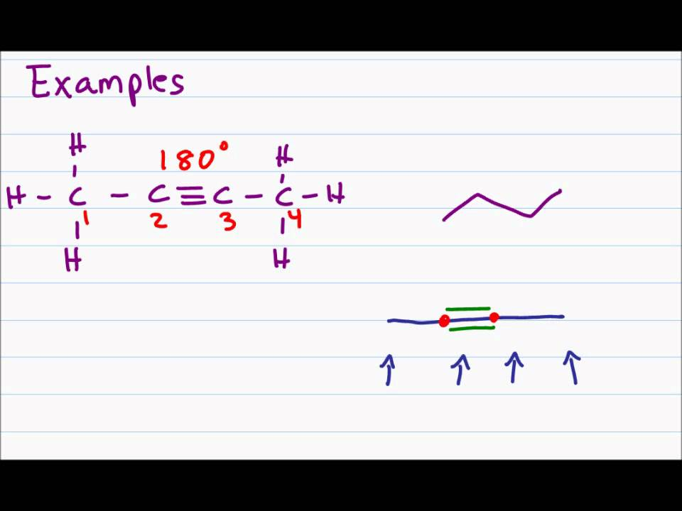 Drawing Skeletal Structures or Bond-Line Notations of Organic