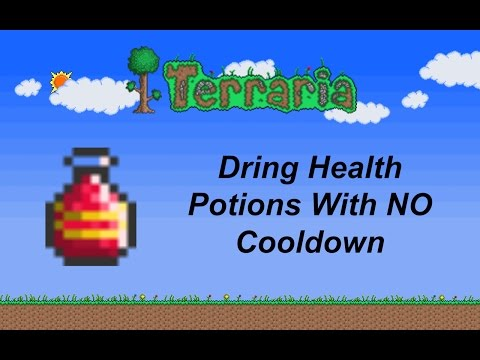 Terraria ios 1.2 | Drink Health Potions with NO cooldown (Patched)
