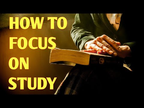 How to focus on studying || Study hacks -1