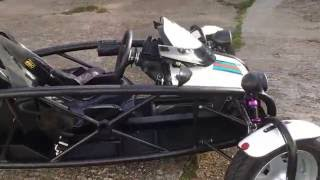 CVT 400 TORQUE RICH REVERSE TRIKE with Quantum Racing Suspension by birubhai