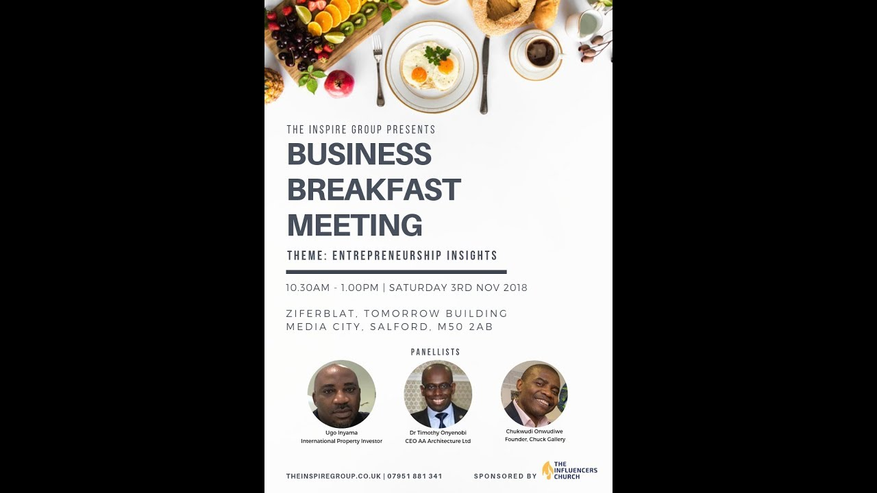 Business Breakfast Meeting 03-11-2018