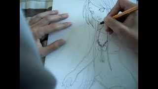 Drawing Sara from scratch