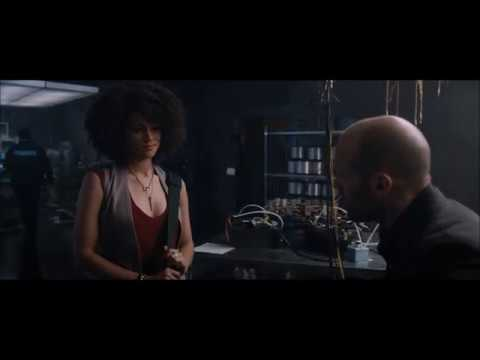The Fate of the Furious Extended Shaw and Ramsey Scene