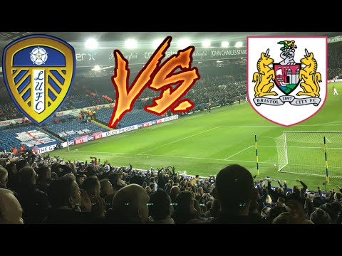 LEEDS FANS GOING MENTAL | LEEDS UNITED 2-2 BRISTOL CITY 2017/18!!! (CRAZY SCENES)