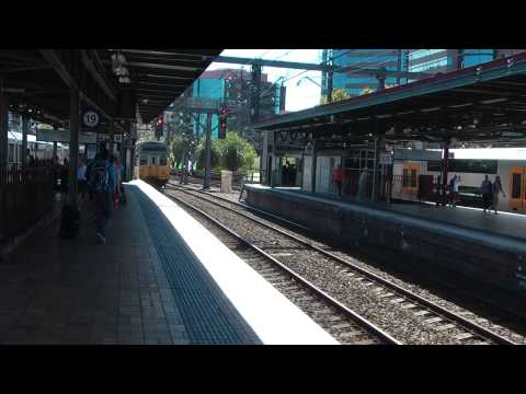 Sydney Central Station (Platform views)