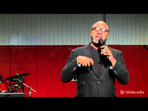 Albert Tate: The Beginning of Wisdom is the Fear of the Lord [Biola University Chapel]